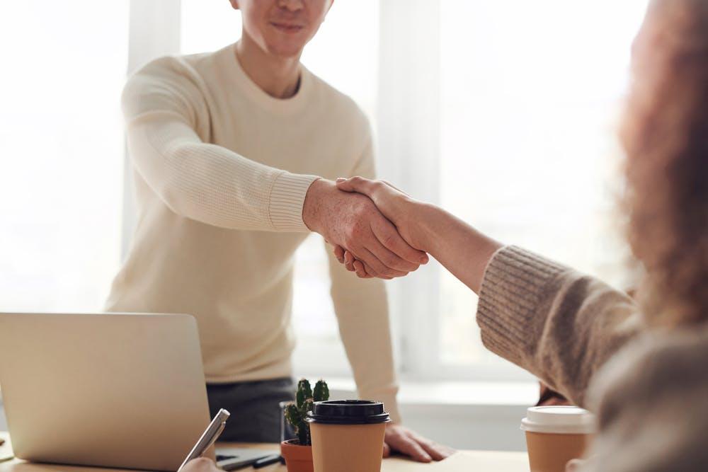 Corporate Handshake