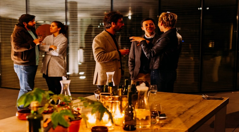 A networking event that allows professionals to make the right connections